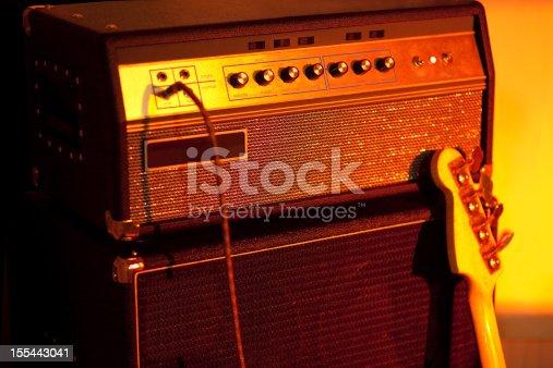 Bass Guitar Amplifier - high iso shot!