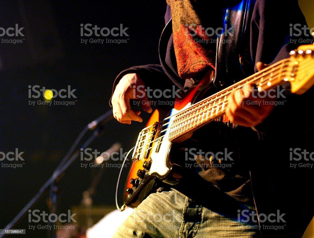 bass guitar stock photo