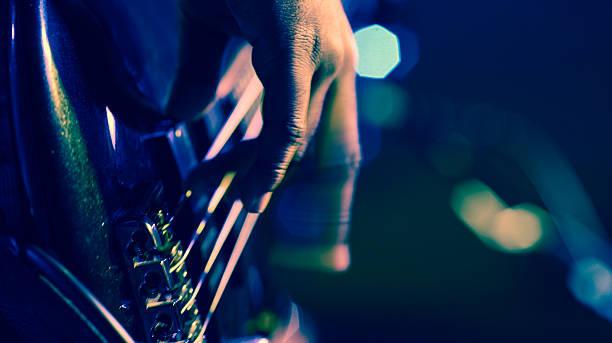 bass guitar - blues stock-fotos und bilder