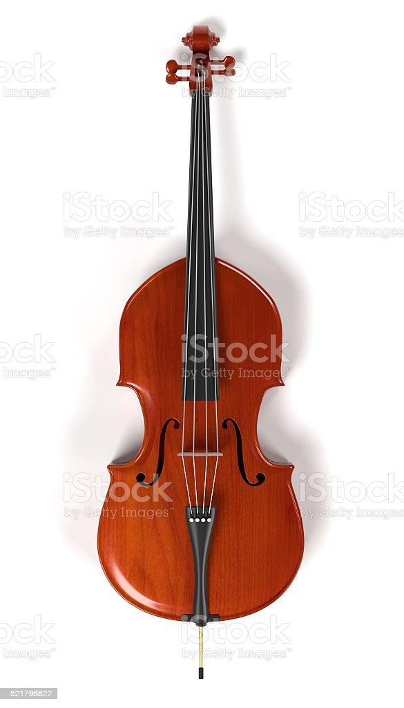 bass - musical instrument stock photo