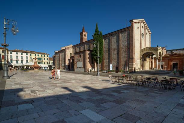 Bassano del Grappa, Chiesa di San Francesco - foto stock