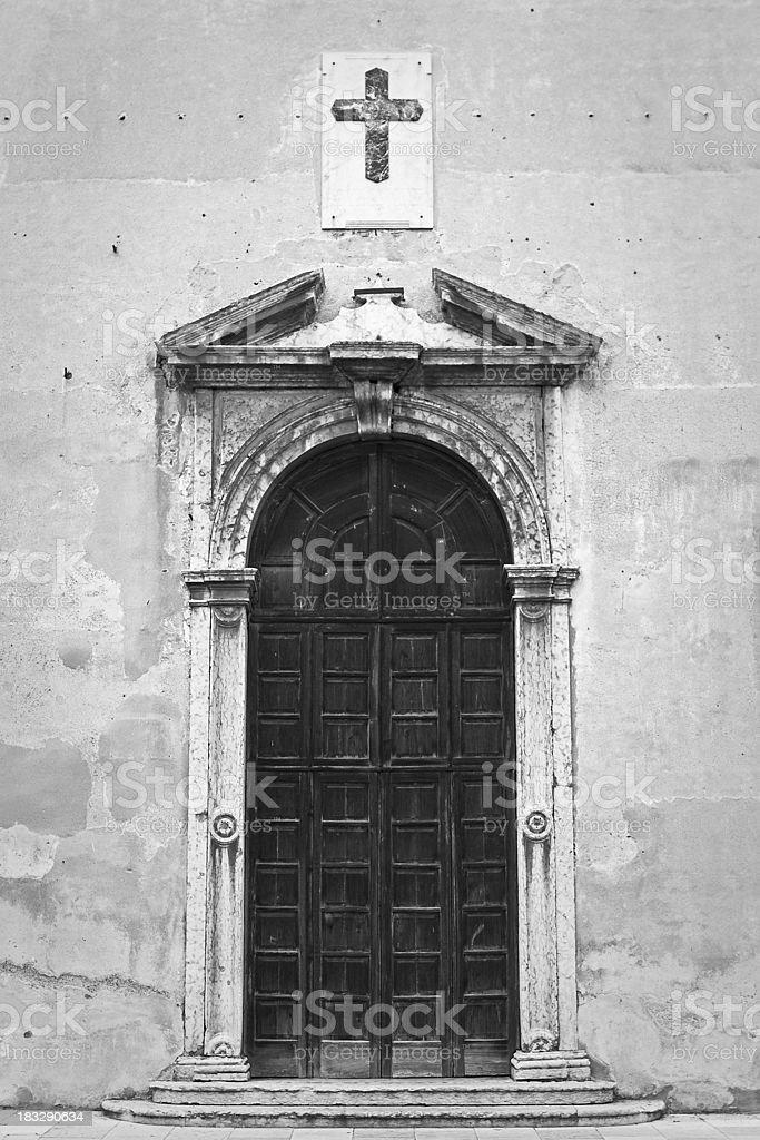 Bassano Del Grappa Church royalty-free stock photo