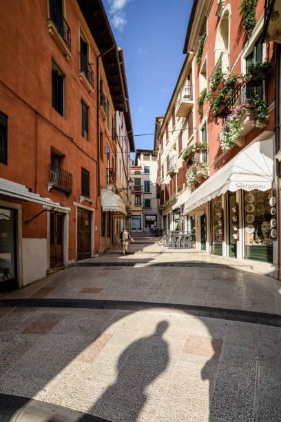 Bassano del Grappa, Salita Ferracina - foto stock