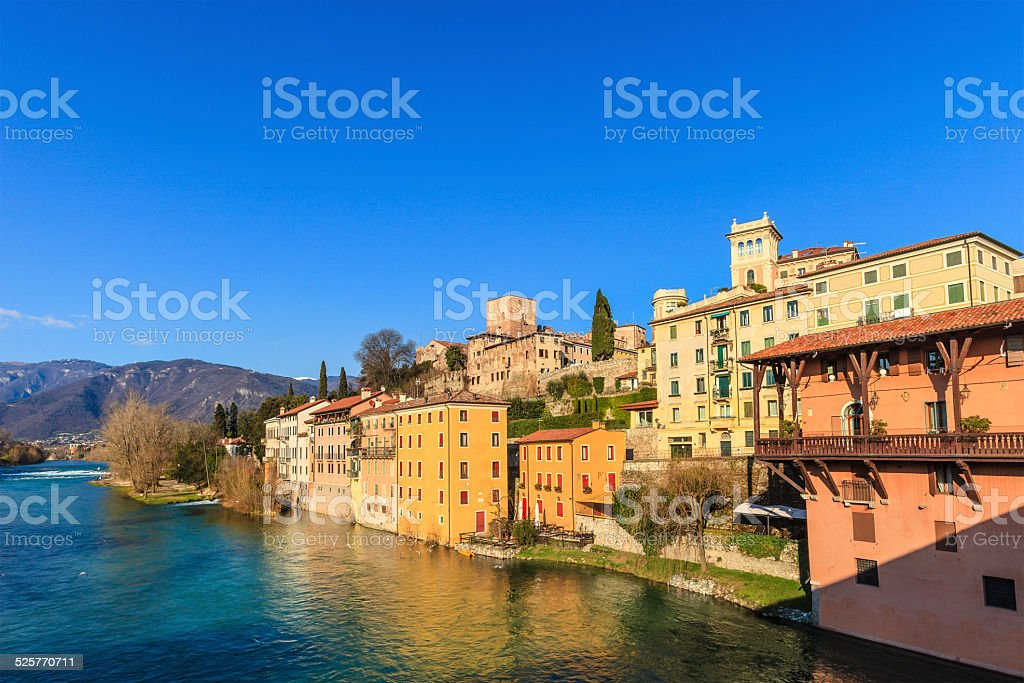 Bassano del Grappa, Italy stock photo