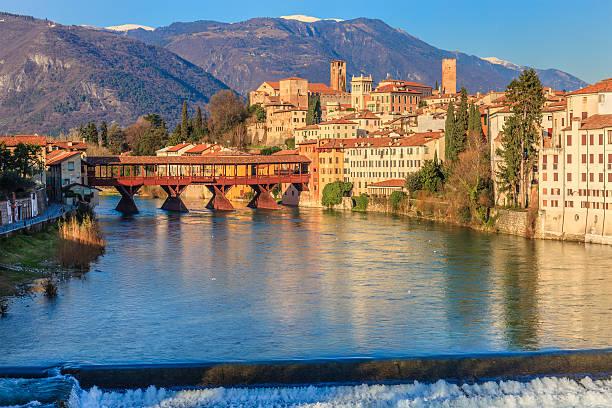 bassano del grappa, italien - vicenza stock-fotos und bilder