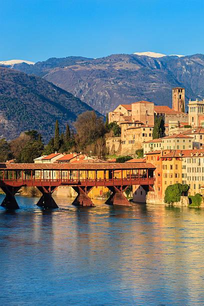 Bassano del Grappa, Italia - foto stock