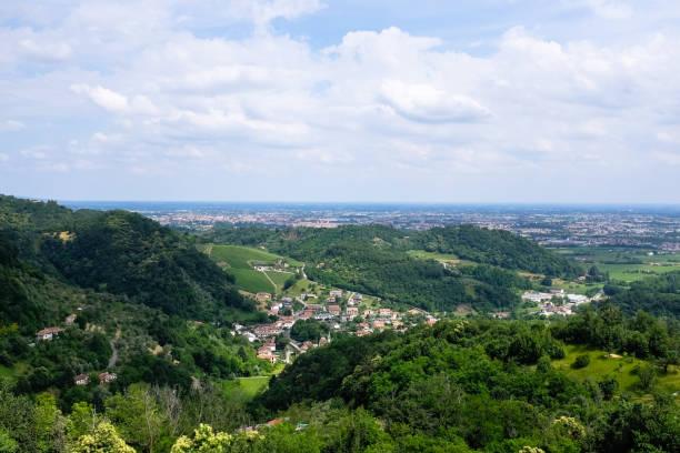 Bassano del Grappa - Panoramica - foto stock