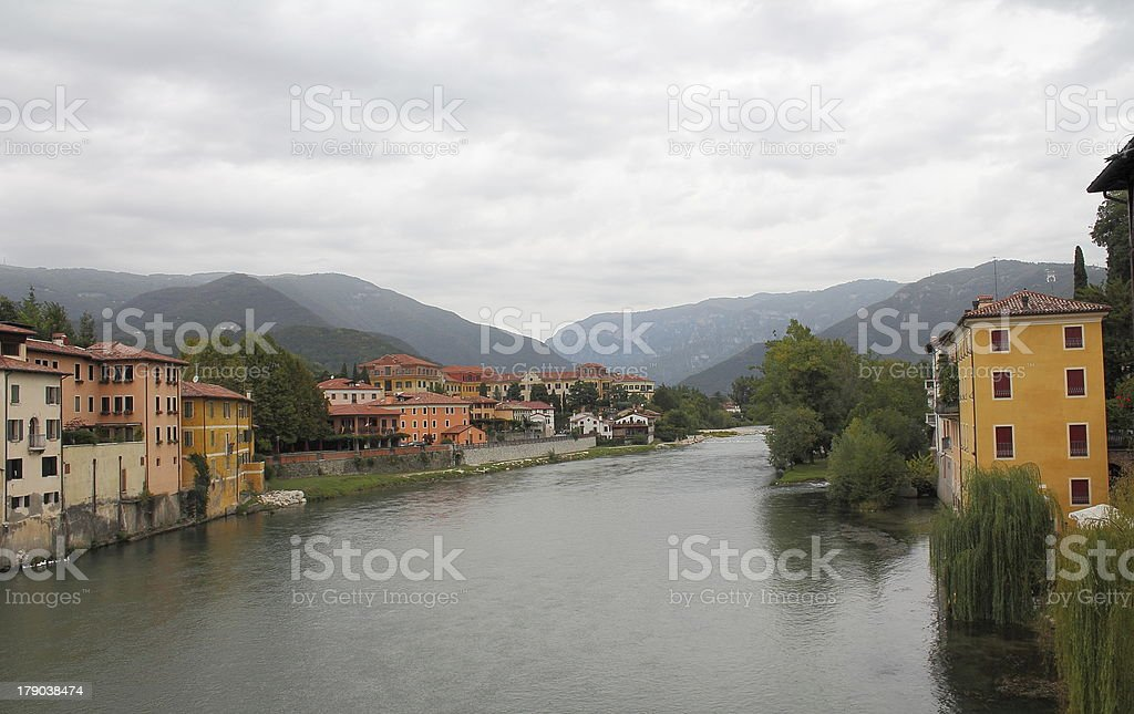 Bassano del Grappa royalty-free stock photo