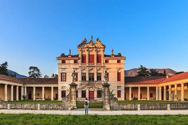 bassano del grappa, villa angarano-italien - vicenza stock-fotos und bilder