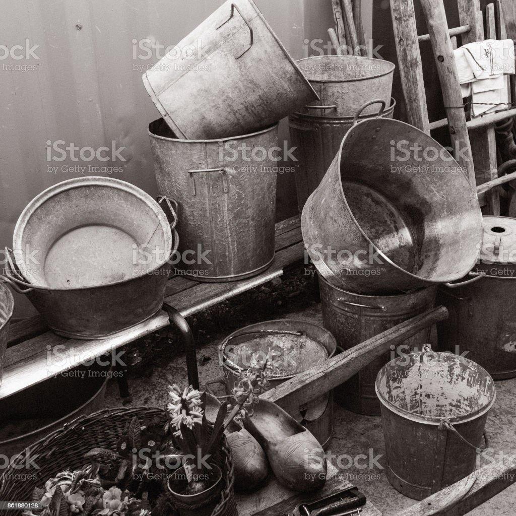 bassine stock photo