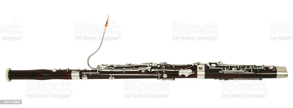 bassoon royalty-free stock photo