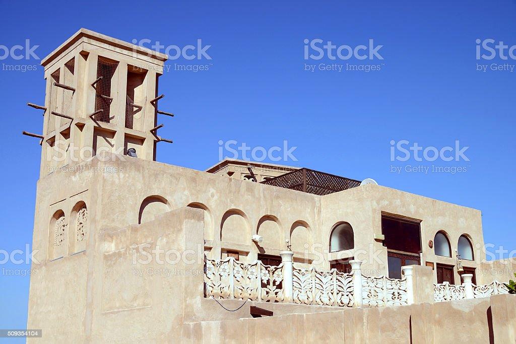 Bastakiya district, Dubai, UAE stock photo