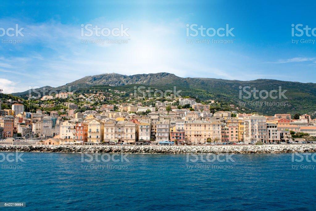 Bastia Corse stock photo