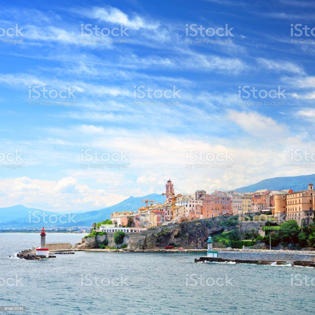 Bastia, Corsica stock photo