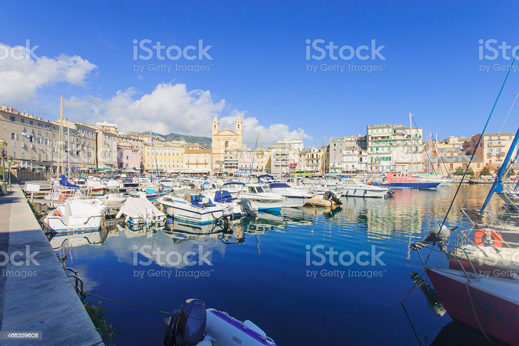 Bastia Vieux Port Stock Photo More Pictures Of 2015 Istock