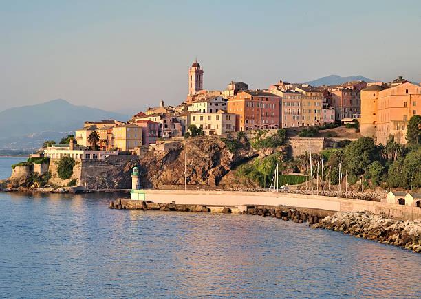 Bastia (córcega) - foto de stock