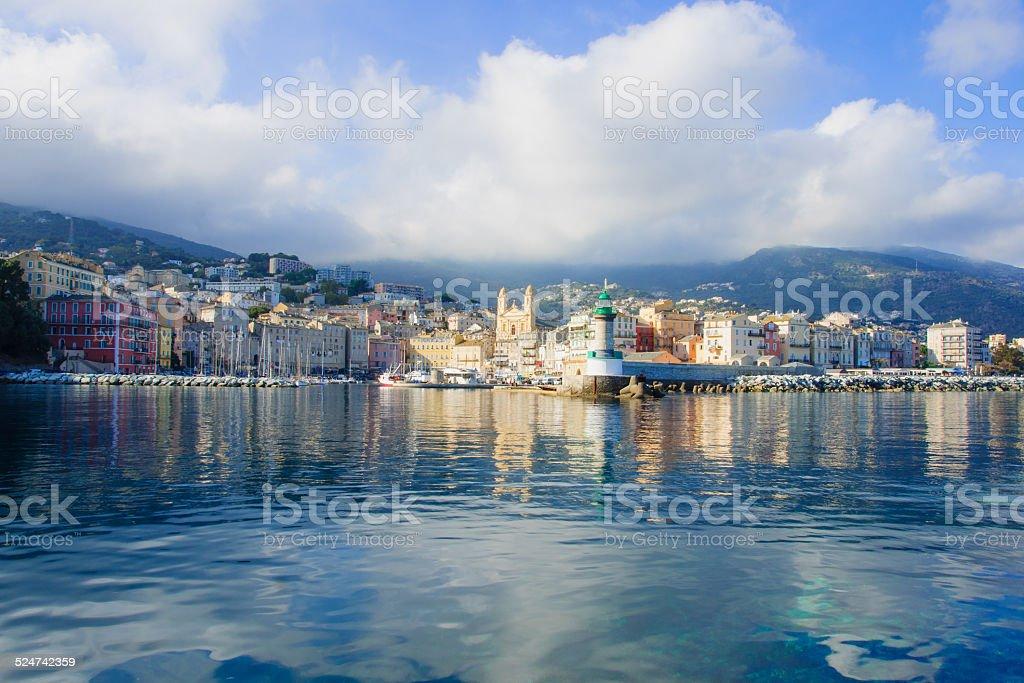 Bastia Vieux Port stock photo