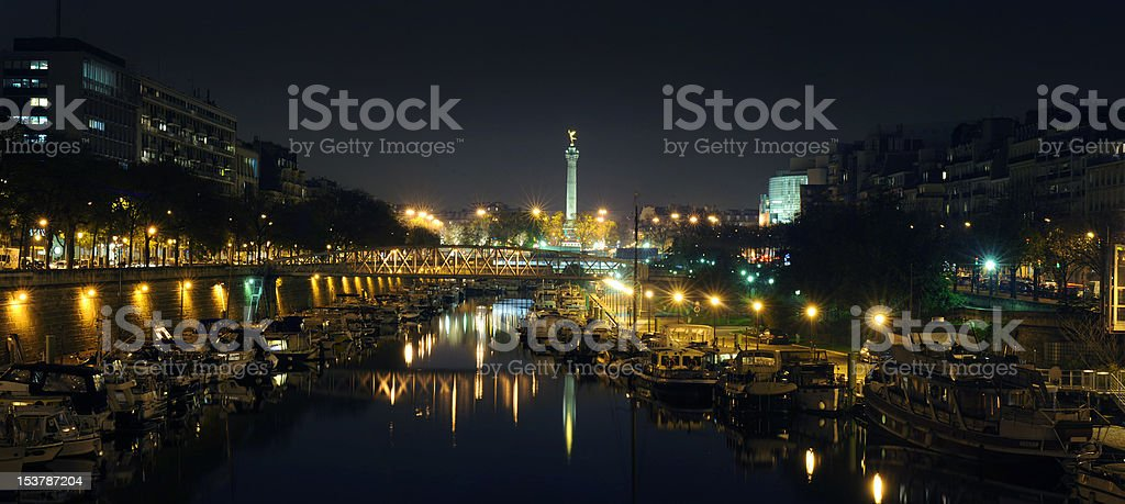 Bastille - Paris stock photo