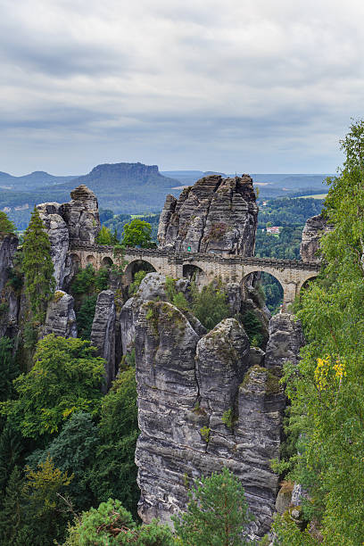 Bastion-Brücke in Saxonia in Dresden – Foto