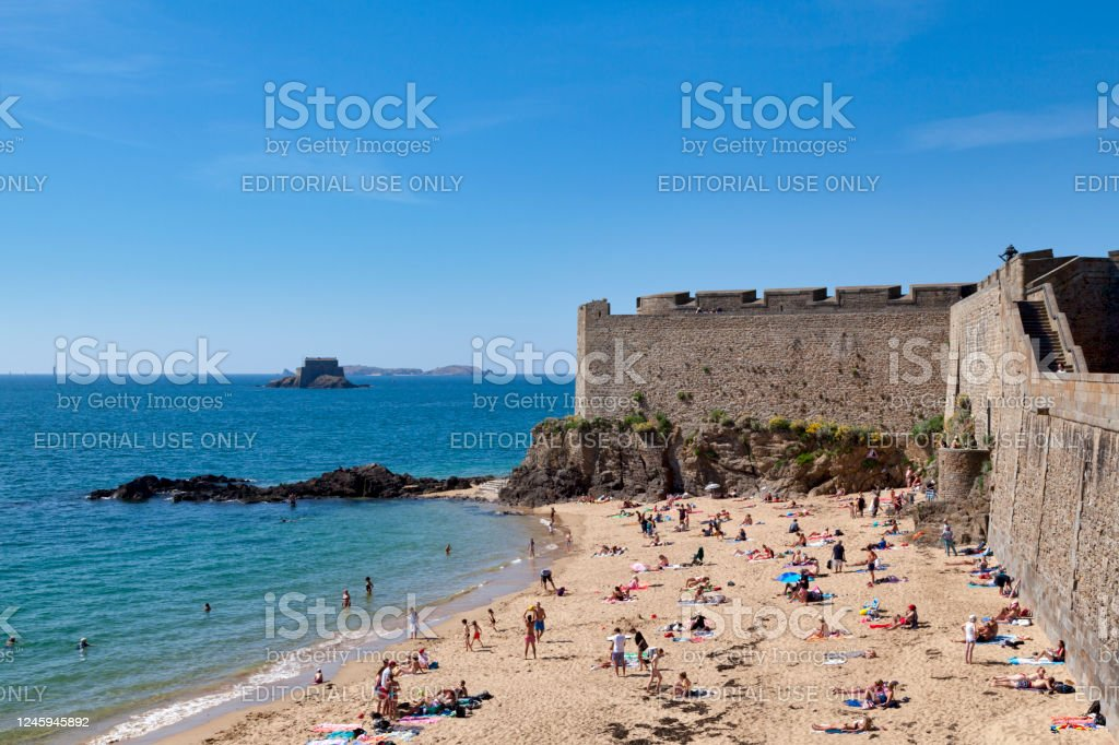 Bastion of Holland in Saint-Malo - Royalty-free Architecture Stock Photo