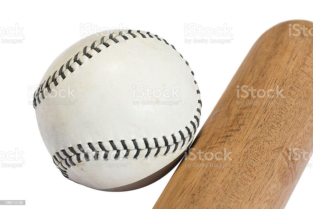 Bat and Ball stock photo