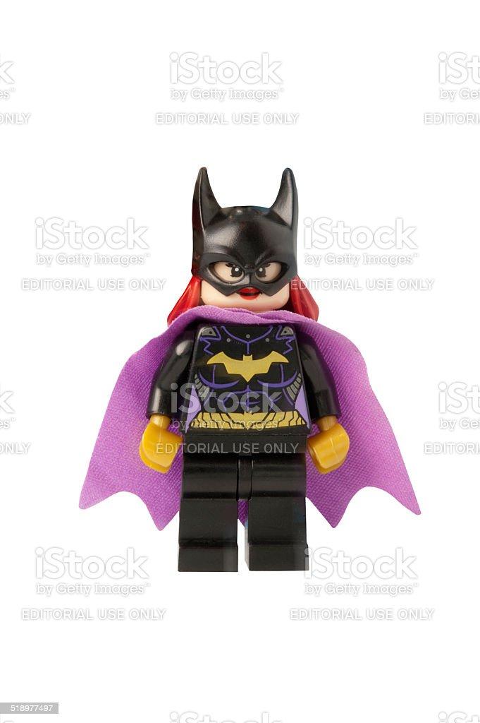Bat Girl Minifigure stock photo
