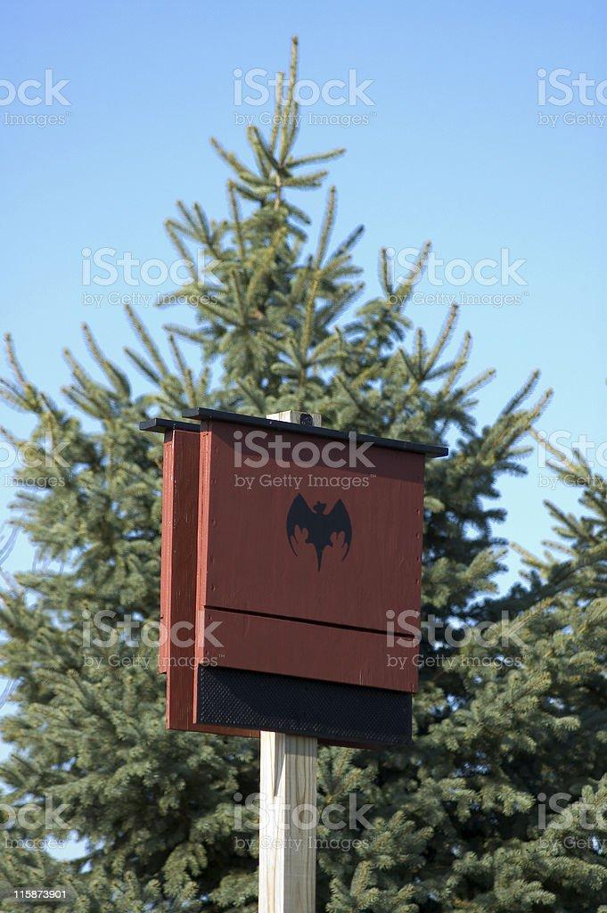 Bat House royalty-free stock photo