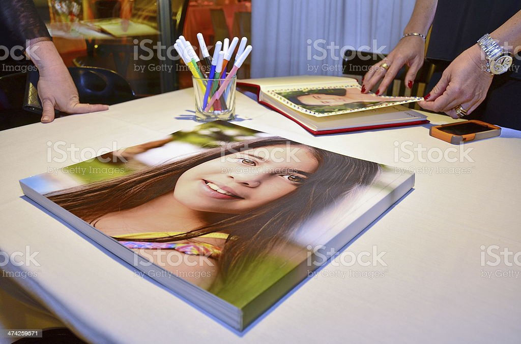 Photobook Album de Bat Mitzvah - Photo