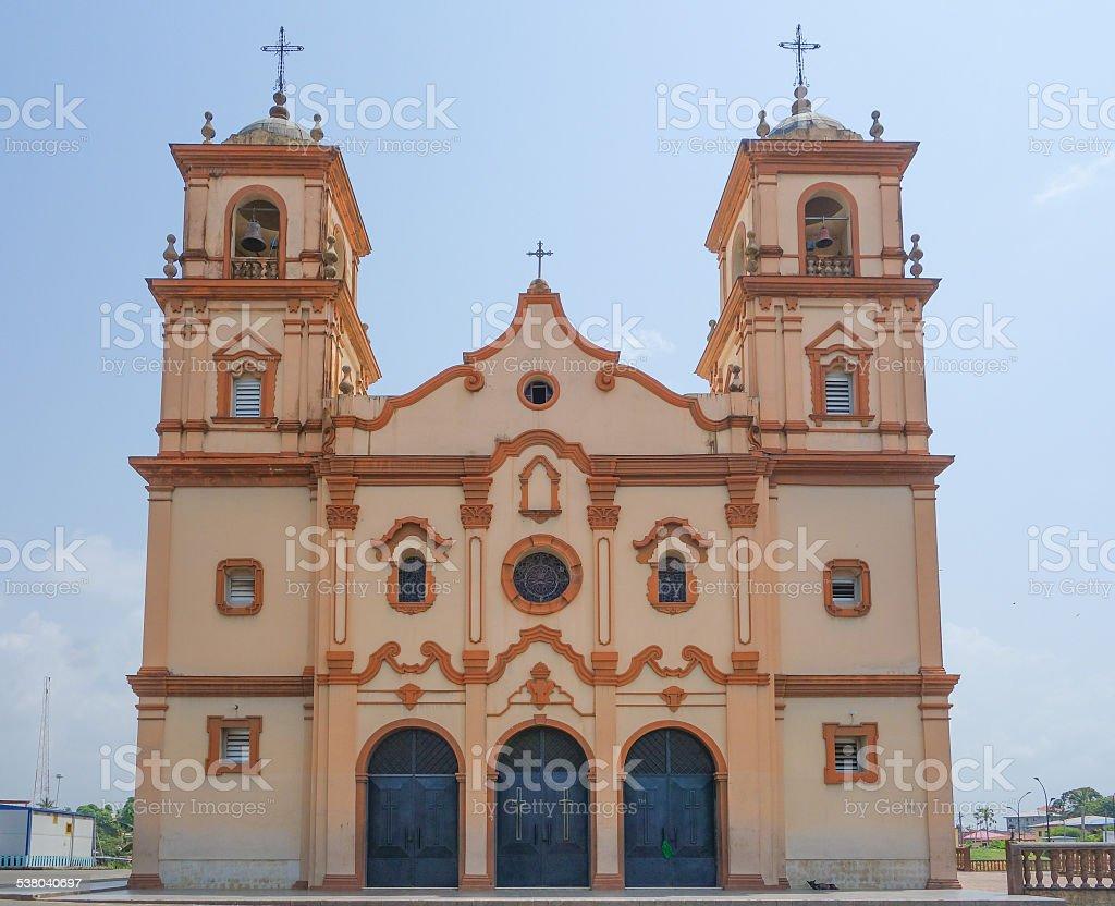 Bata cathedral stock photo