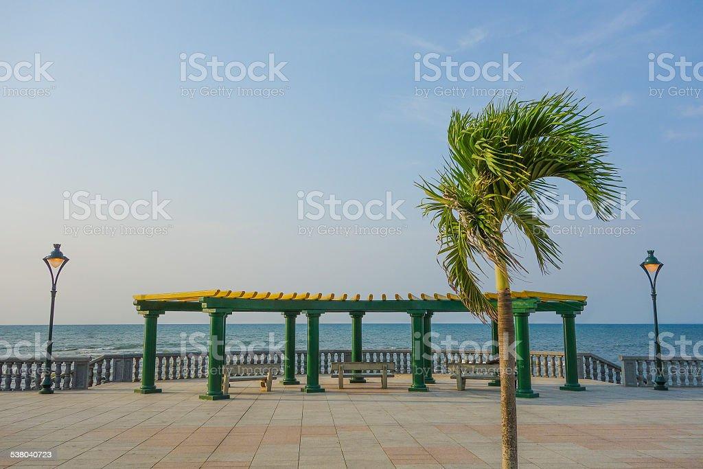 Bata waterfront stock photo