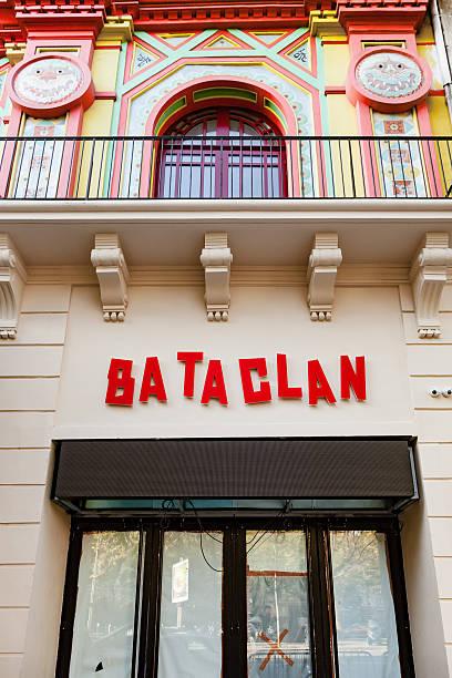 Bataclan concert hall new logo stock photo