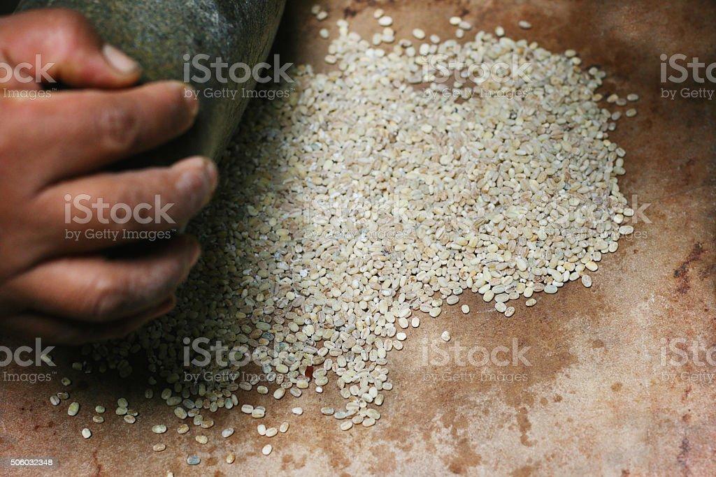 Batan kitchen utensil stock photo