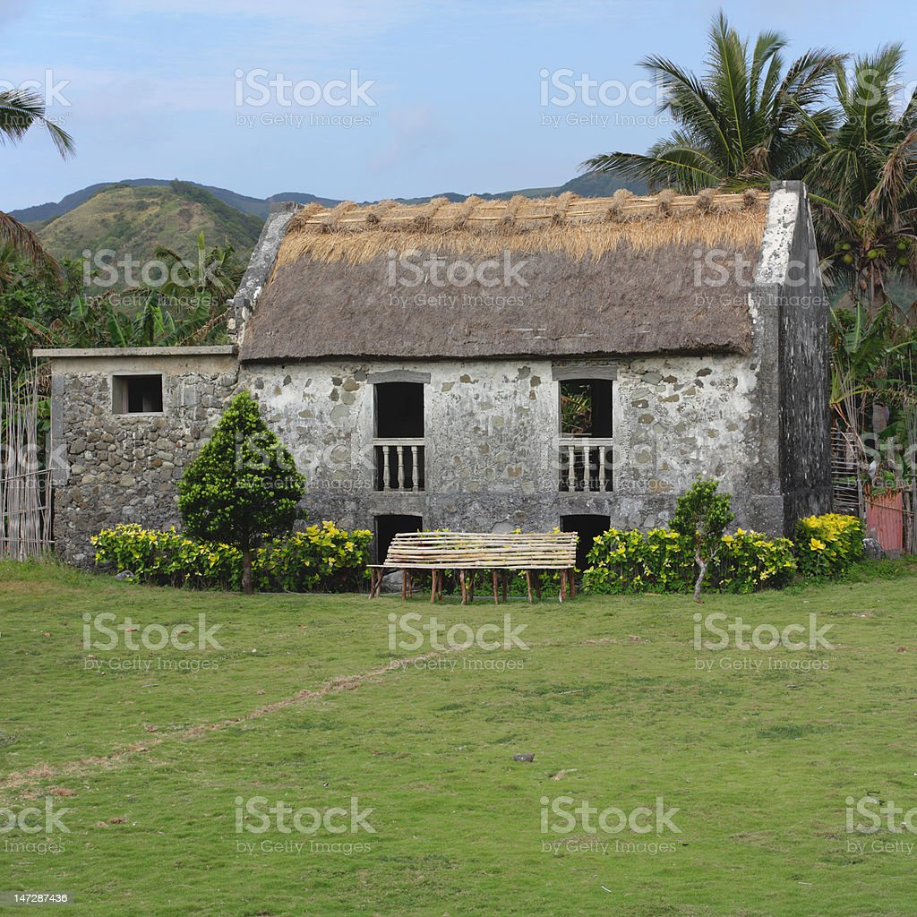 Batanes House royalty-free stock photo