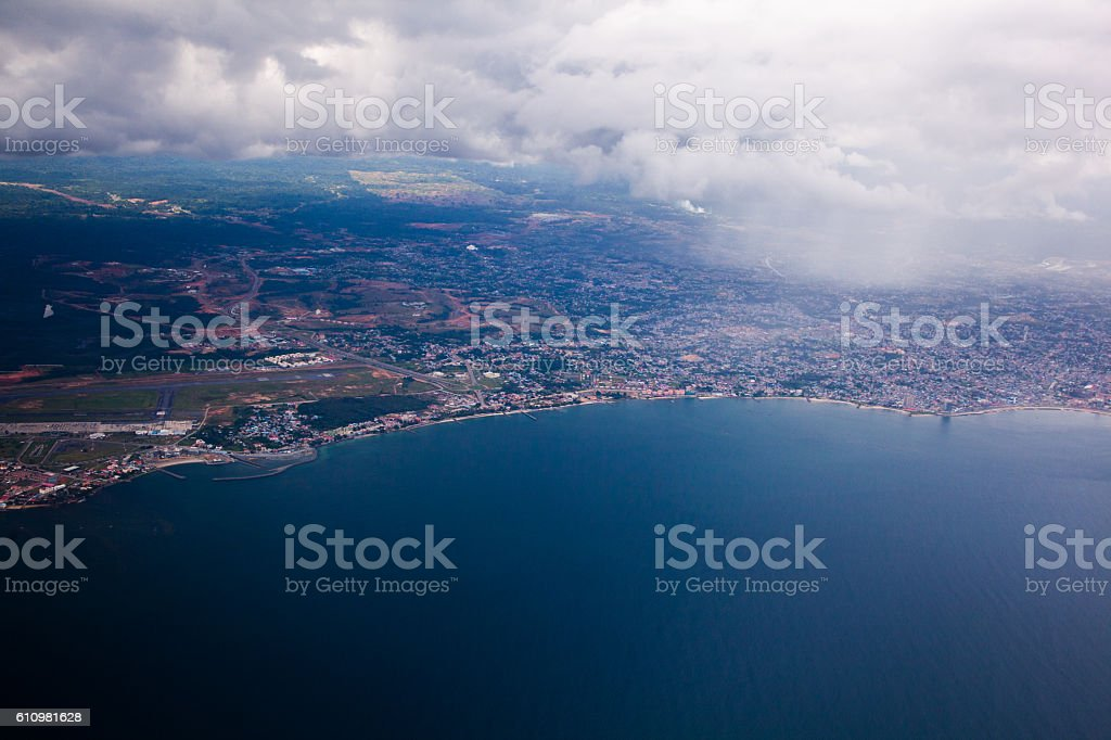 Bata´s litoral stock photo