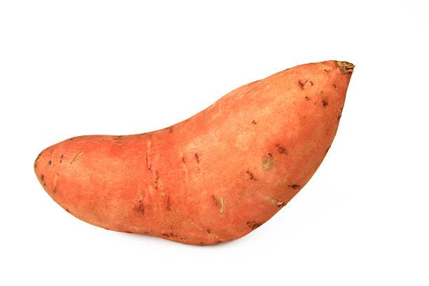 Weiße Süßkartoffel oder Süßkartoffel – Foto