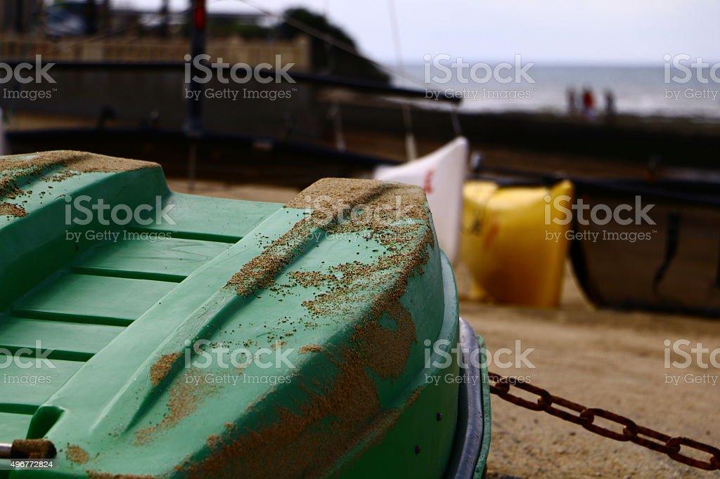 annexe bateau en bord de mer - Photo