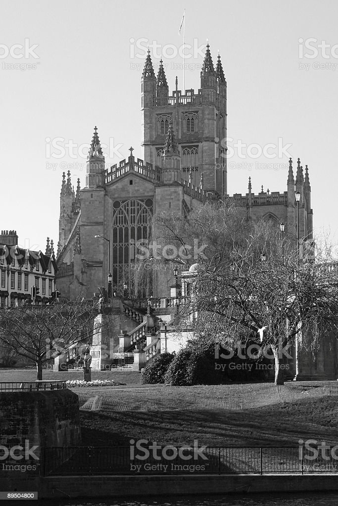 Bath Abbey - England royalty-free stock photo