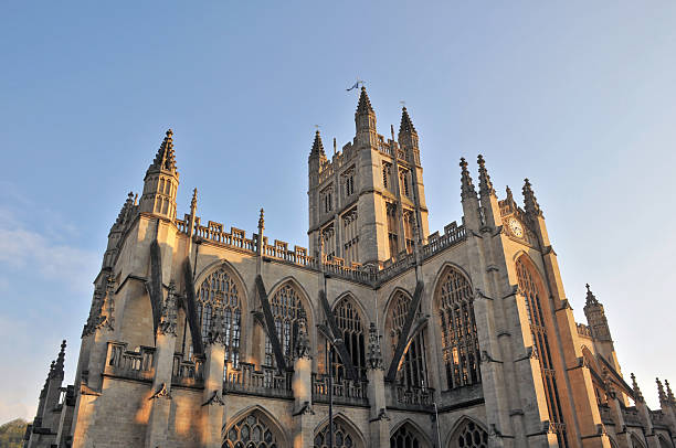 Bath Abbey  bath abbey stock pictures, royalty-free photos & images