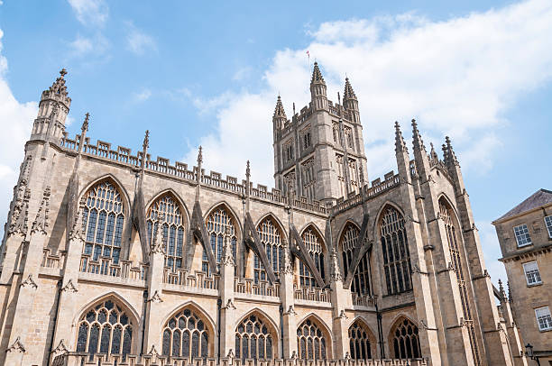 Bath Abbey Bath Abbey In England bath abbey stock pictures, royalty-free photos & images