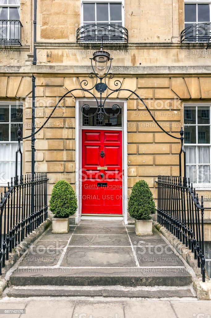 Bath Architecture stock photo