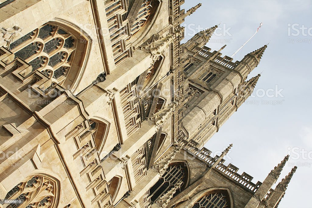 Bath Cathedral royalty-free stock photo