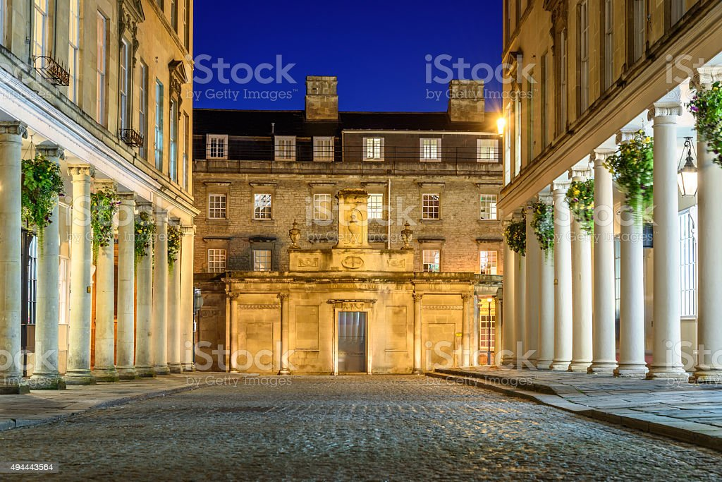 Bath city UK stock photo