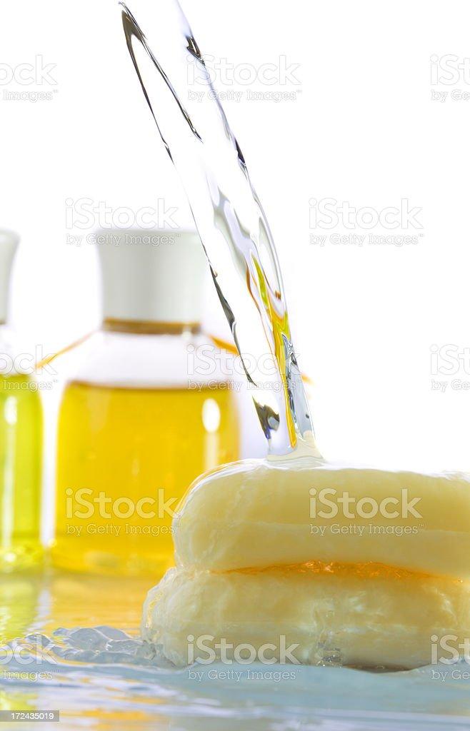 Bath cosmetics royalty-free stock photo