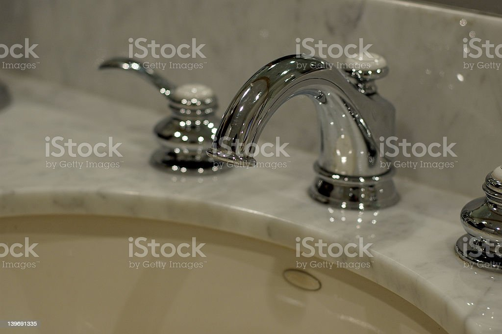 Bath Fixtures royalty-free stock photo