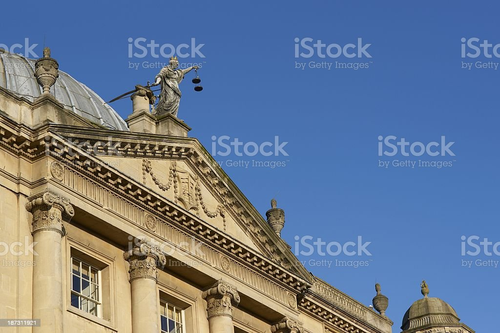Bath Guildhall stock photo