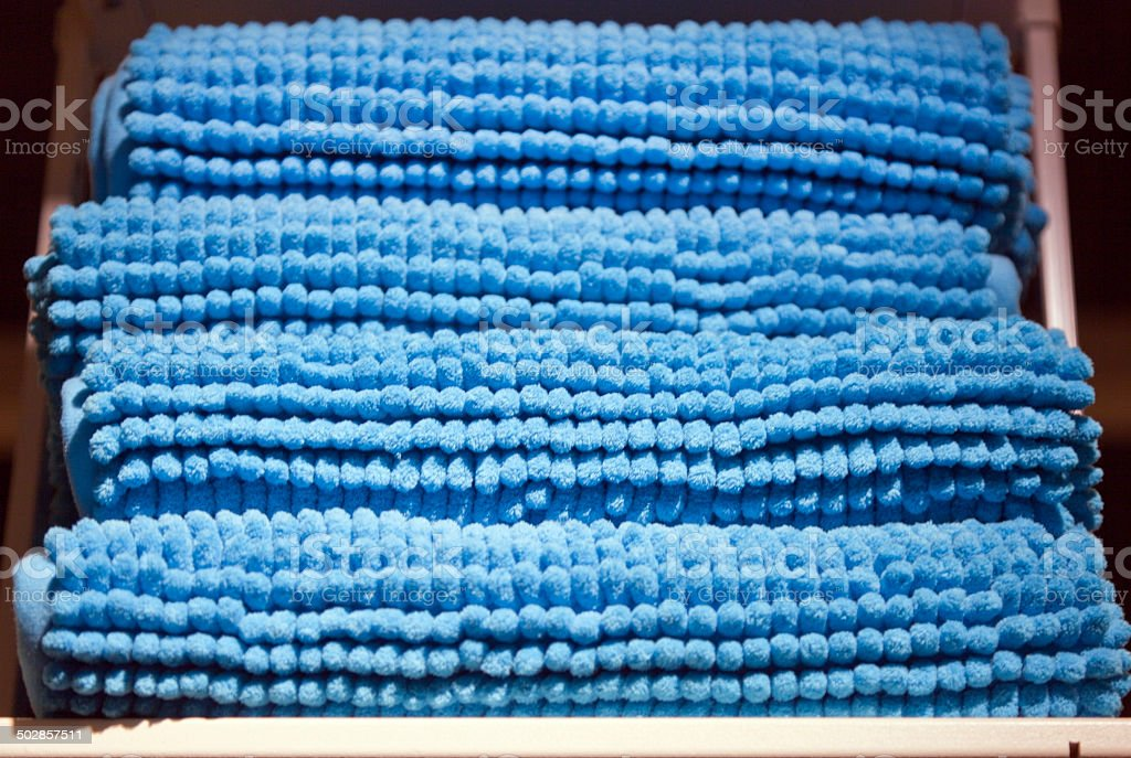 Bath Mat stock photo