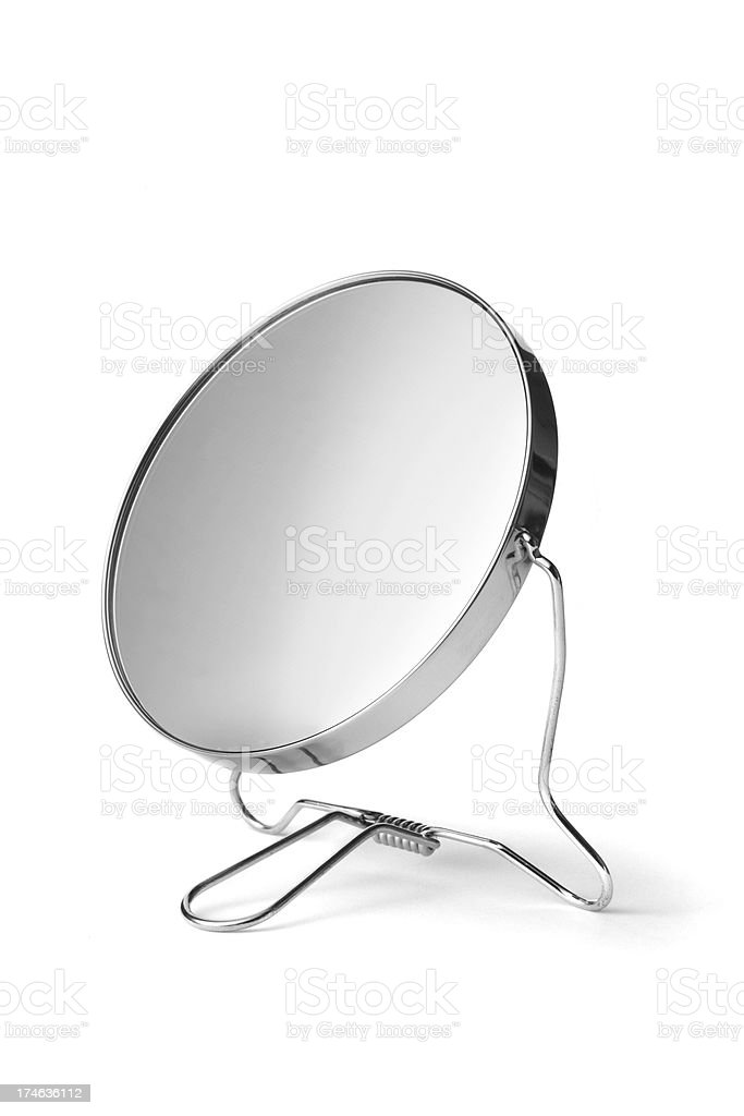 Bath: Mirror royalty-free stock photo