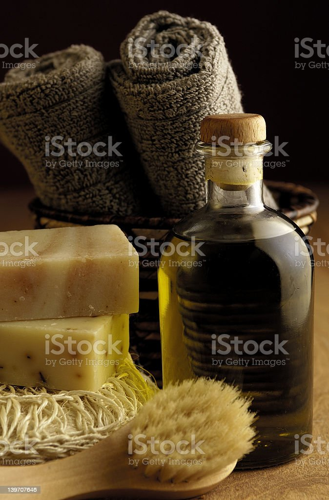 Bath Oil royalty-free stock photo