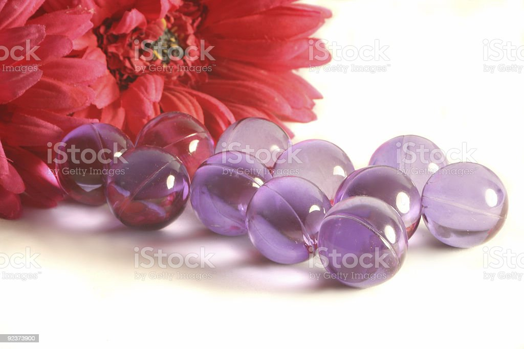 bath pearls royalty-free stock photo