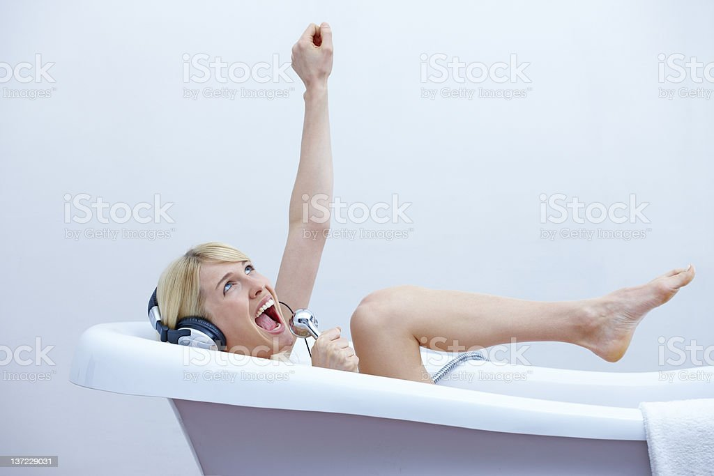 Bath royalty-free stock photo